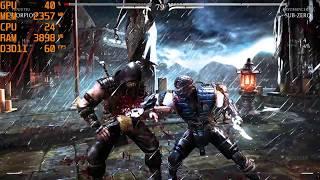 GTX 1060 6GB + i5 7500 - Mortal Kombat X [Max Settings/1080p]