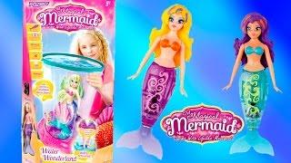My Magical Mermaid Water Wonderland ZURU Toys Mermaids Dolls Toy Videos Baby Toys