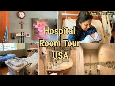 HOSPITAL ROOM TOUR USA ~LABOUR & DELIVERY IN USA~INDIAN NRI MOM~HOPE YOU RELATE~NRI CHANNEL IN USA