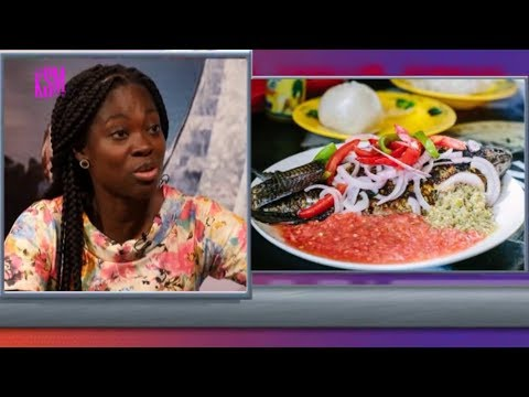 KSM Show-Clinical Dietitian, Mavis Asamoah talking about healthy eating