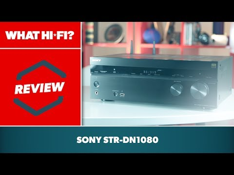 Sony STR-DN1080 AV Amp (2017) Review