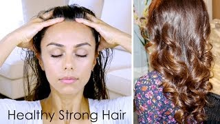 One of AnnieJaffrey's most viewed videos: DIY Scalp Massage for Healthy Strong Hair! ♥ (Stimulates Growth & Conditions) | Annie Jaffrey