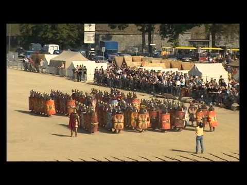 L'armée romaine conquiert le stade