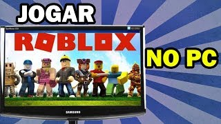 How to play ROBLOX on the computer