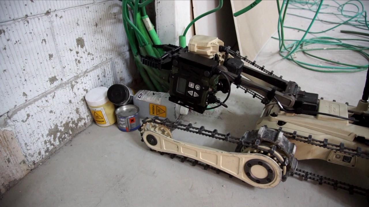 MTGR Military Robot CBRN Warfare
