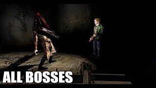 Silent hill 2 - all bosses (with cutscenes) hd