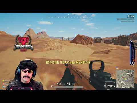 Dr Disrespect Plays PUBG | Trio Win With Vsnz and Halifax Game 1 (2/26/18)