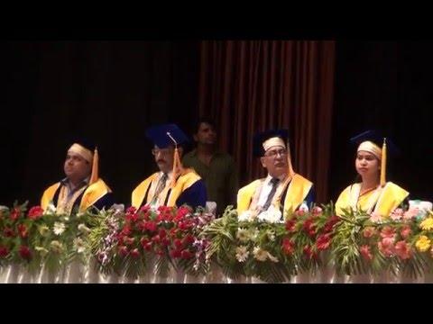 Subharti University Diploma Convocation at  Mangalya Auditorium on 16 th May Clip2