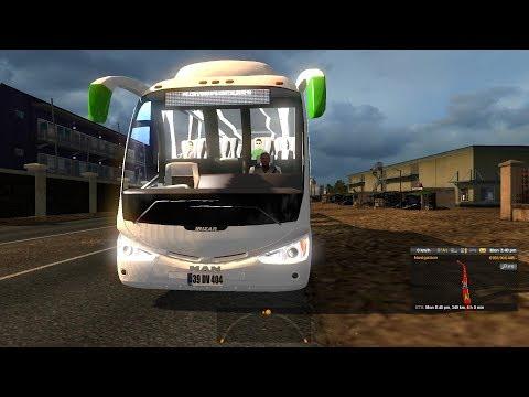 ETS2: Dhaka to Sylhet (Green Line Scania Irizar PB)