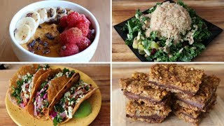 What I Eat in a Day // Healthy Fall Recipes (Vegan)