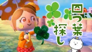 夢の中で幸せの四葉のクローバー探し!? とびだせ どうぶつの森 amiibo+ 実況プレイ 四つ葉のクローバー 検索動画 15