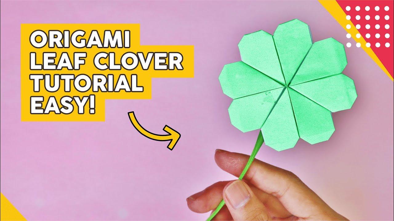 Cara Membuat Origami Bunga Berbentuk Semanggi 4 Daun Materi Sd Kelas 4 6 Di Tvri Kamis 7 Mei 2020 Tribunnews Com Mobile