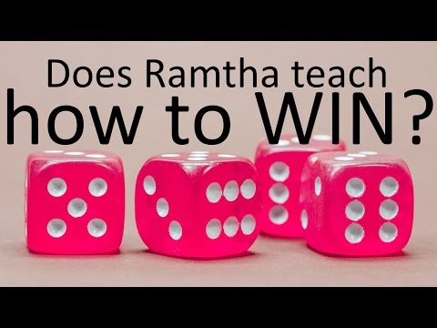 JZ Knight / Ramtha - on teaching how to win at gambling & lotteries