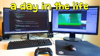 A Day in the Life of an Indie Game Developer & Student - Monday