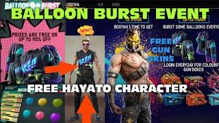 How to complete Balloon Burst event in freefire tamil | Claim free Hayato Costume | #baloonburst