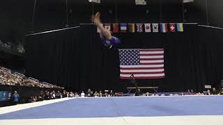 Leanne Wong (USA) - Floor Exercise - 2019 American Cup