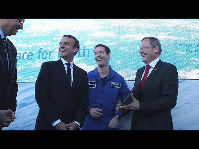 Ле Бурже. Возвращение Тома Песке, экспедиция на Марс, сотрудничество НАСА и Европейского… - space