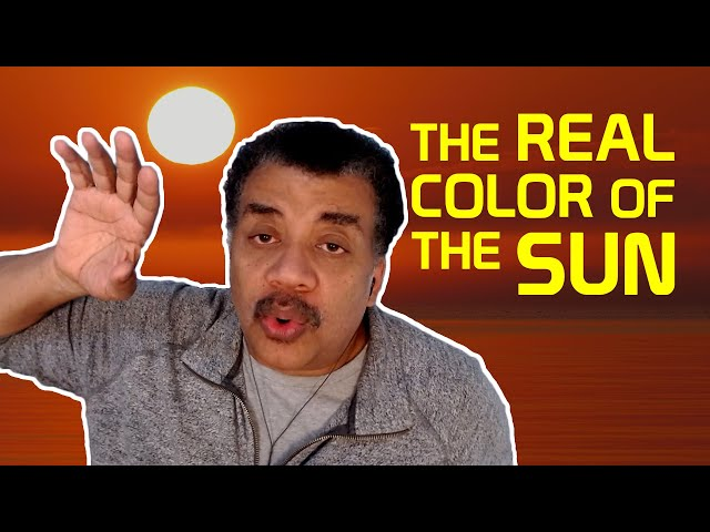 Neil deGrasse Tyson Explains the REAL Color of the Sun