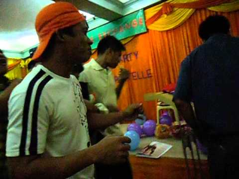 HEI - Bohol Game 4. Biskucho Eating Contest