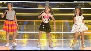 Paula vs. Paz vs. Carla: 'Voy A Ser El Rey León' – Las Batallas - La Voz Kids 2017