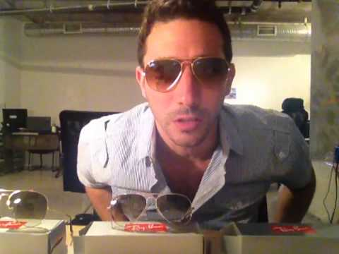 ray ban aviator 55mm polarized  Ray-Ban RB3025 001/51 Aviators Review: 55mm, 58mm and 62mm Gold ...