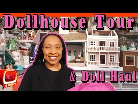 DOLL ROOM UPDATE: Dollhouse Church with Rectory and American Girl items