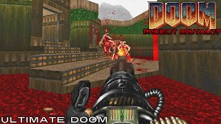 Project brutality, a brutal doom mod gameplay #1