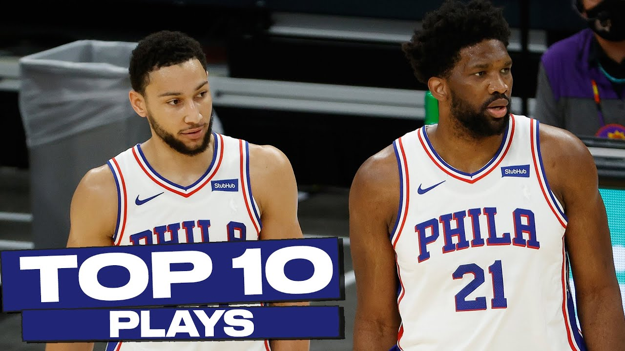 Top 10 Philadelphia 76ers Plays of The Year! 😎