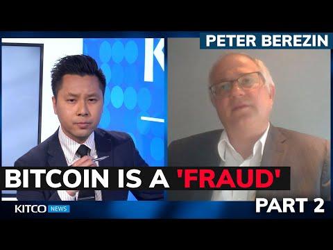 Bitcoin is a fraud and spells doom for investors, economist Peter Brezin says