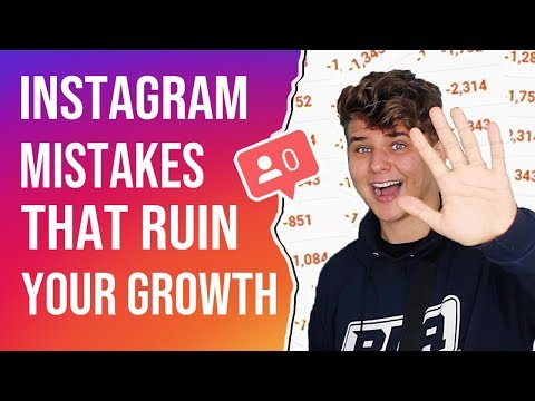 Why Your Instagram Isn't Growing | Common Mistakes 2019