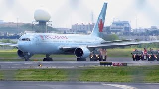 Video EMERGENCY LANDING! Air Canada Boeing 767-300 [C-FCAF] at Toronto Pearson Intl. YYZ! download MP3, 3GP, MP4, WEBM, AVI, FLV Juli 2018