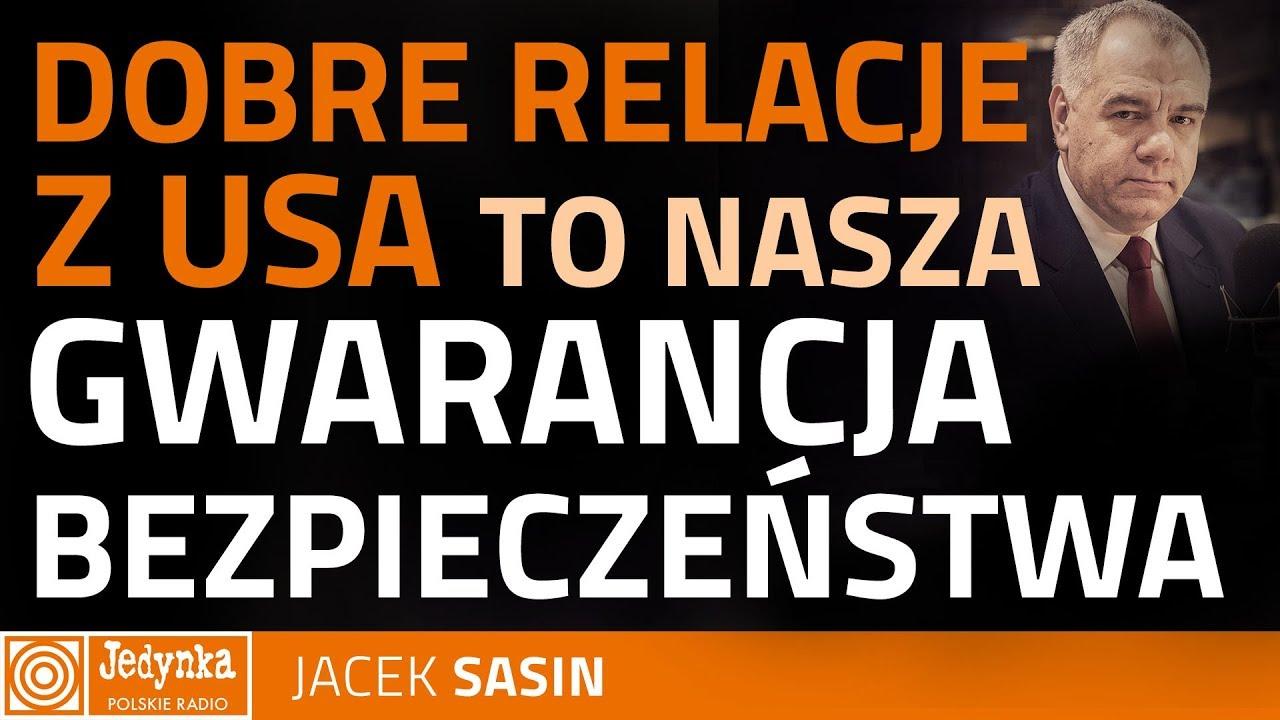Jacek Sasin: doniesienia o wprowadzeniu sankcji przez USA wobec Polski, to fake news