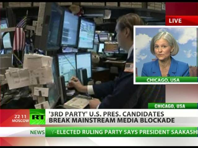 Jill Stein: Americans are being thrown under the bus