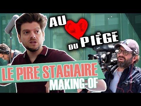"""Au Cœur du Piège - prime """"Le Pire Stagiaire"""" (Docu - Making-Of)"""