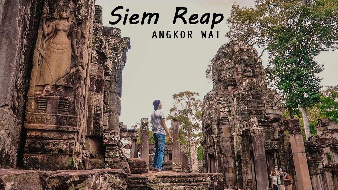 Siem Reap, Angkor Wat,  Cambodian Travel , Khmer Travel Vlog