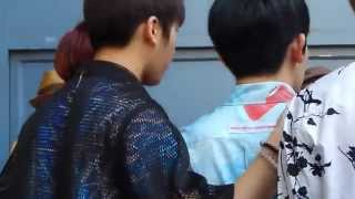 KCON 2014 TEEN TOP FAN ENGAGEMENT [FANCAM] of their Back Sides