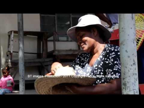 Ile Rodrigue Maurice Visite touristique au Marché de Port Mathurin Rodrigues Island Mauritius