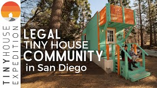 San Diego's 1st Legal Tiny House Community! Insights & Tours