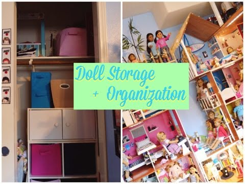 Superieur American Girl Doll Storage + Organization!   YouTube