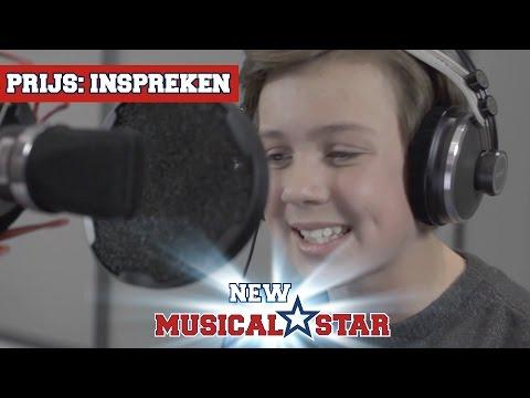 Prijs: Stem inspreken - Julius | New Musical Star