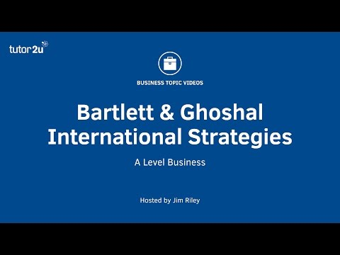 Bartlett & Ghoshal - International Strategies