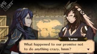 Fire Emblem Awakening - Yarne & Lucina Support Conversations