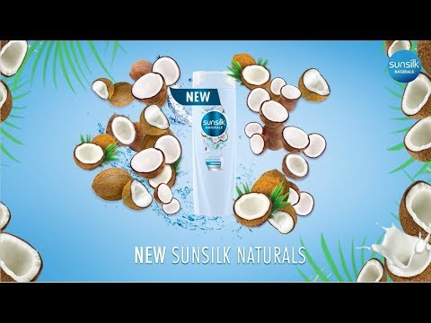 All-New Natural Ingredients, Now in Sunsilk Coconut Hydration!