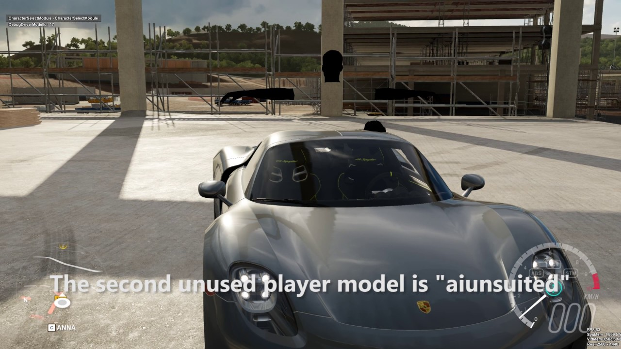 Forza Horizon 3: Unused Driver Models (Developer Build) - YouTube