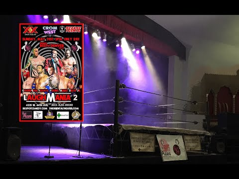 Lucha Libre & Laughs presents: Laughmania 2 @ the Oriental Theater Denver, CO