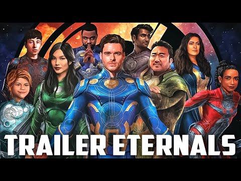 Eternos PRIMEIRO trailer oficial ACHEI MUITO BOM!