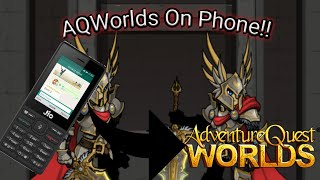 AQWorlds How to play on phone?