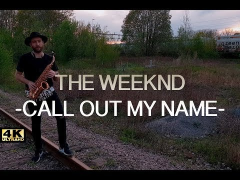 The Weeknd - Call Out My Name (Saxphone Cover) 🎷EdiSax🎷