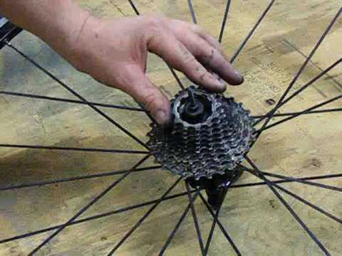 Shimano Cassette Lockring Removal Youtube