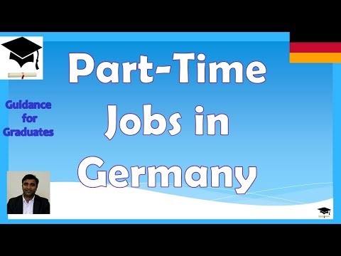 Part Time Jobs and Post Study Work Permit in Germany, Study in Germany, Masters in Germany